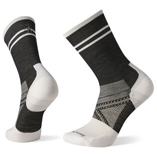 Men's PhD® Cycle Ultra Light Pattern Crew Sock
