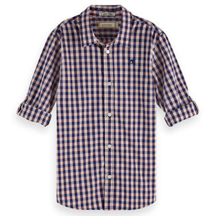 Junior Boys' [8-16] Checked Shirt