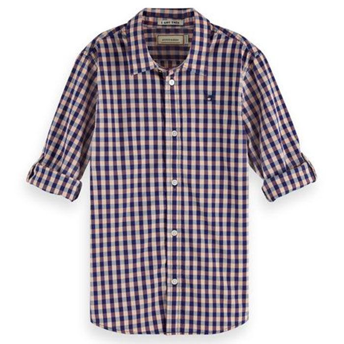 Junior Boys' [8-16] Checked Shirt