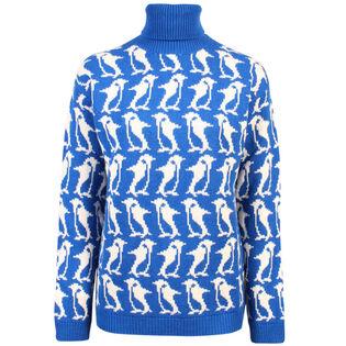 Women's Penguin High Neck Sweater