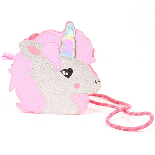 Junior Girls' Glitzy Unicorn Crossbody Bag