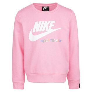Girls' [4-6X] Sportswear Heritage Crew Sweatshirt