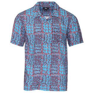 Men's Hand Drawn Houndstooth Shirt