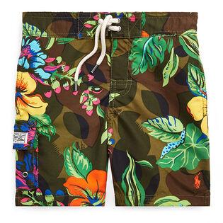 Boys' [2-4] Kailua Floral-Camo Swim Trunk