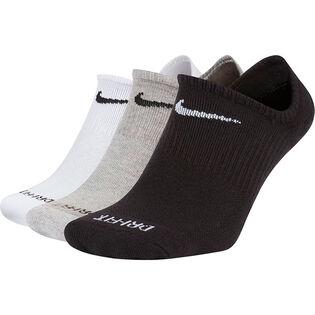 Socquettes coussinées Everyday Plush unisexe (paquet de 3)