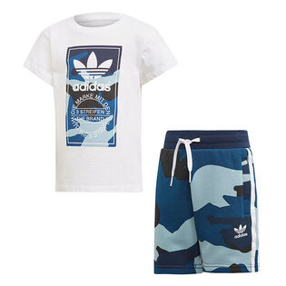 Boys' [4-7] Camouflage Two-Piece Set