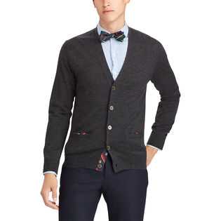 Men's Merino Wool Cardigan