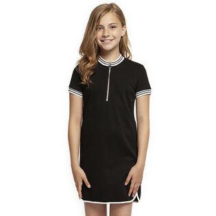Junior Girls' [7-14] Mod Zip Dress