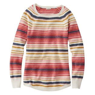 Women's Textured Stripe Sweater