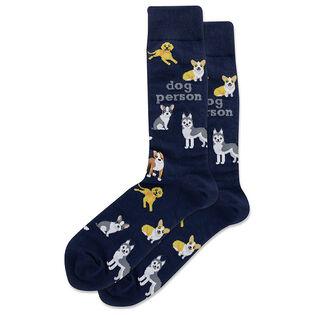 Men's Dog Person Sock