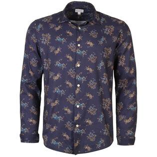 Men's Mini Floral Print Shirt