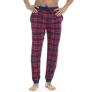 Men's Plaid Jogger Pajama Pant