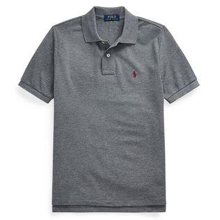 Polo en maille de coton pour garçons juniors [8-20]