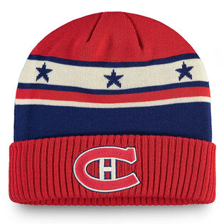 Men's Montreal Canadiens Iconic Cuffed Knit Beanie