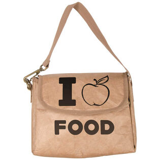 I Love Food Insulated Lunch Bag
