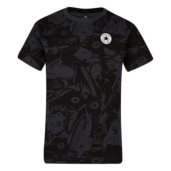T-shirt imprimé à écusson Chuck pour garçons juniors [8-16]