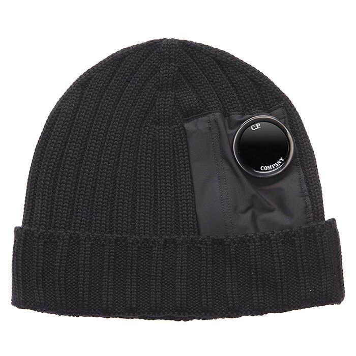 Men's Merino Wool Lens Beanie