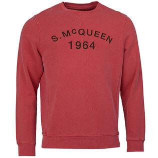 Men's Steve Mcqueen™ Vintage Crew Neck Sweatshirt