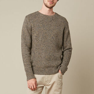 Men's Donegal Wool Sweater
