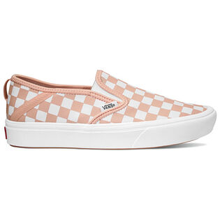 Women's ComfyCush Checkerboard Slip-On SF Shoe