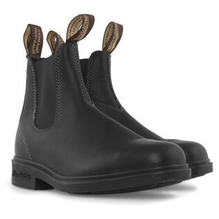 #068 The Chisel Toe Boot In Black