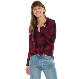 Chemise effilochée pour femmes