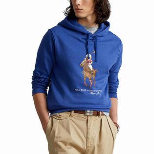 Men's Polo Bear & Big Pony Fleece Hoodie