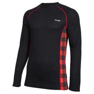 Men's Merino Blend Crew Top
