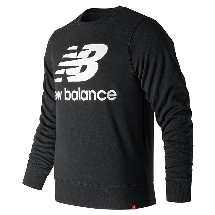 Men's Essentials Stacked Logo Crew Sweatshirt