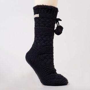 Women's Basket Weave Sock