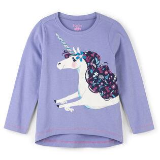 Girls' [2-6] Unicorn T-Shirt