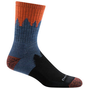 Men's Number 2 Micro Crew Cushion Sock