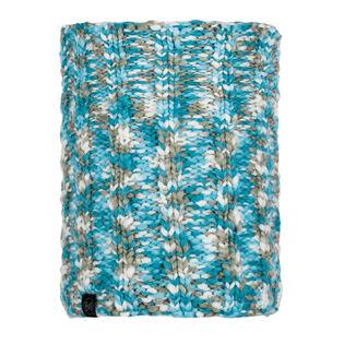 Livy Aqua Knitted Neck Warmer