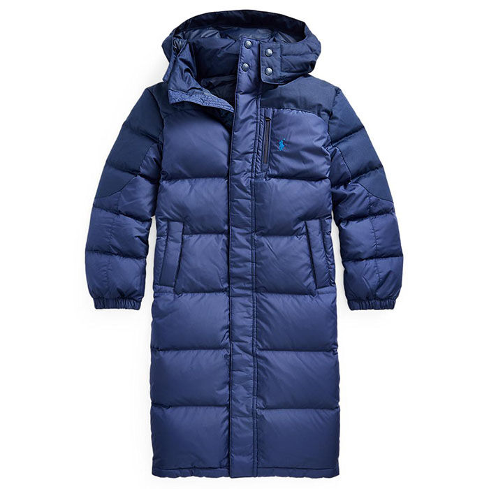 Junior Boys' [8-20] Water Resistant Down Coat