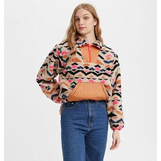 Women's Arizona Sherpa Quarter-Zip Sweater