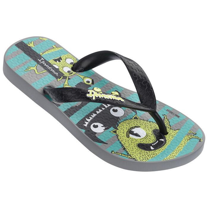 Sandales de plage à imprimé de monstres pour enfants [9-2]
