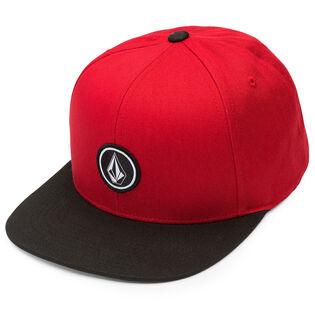 Men's Quarter Twill Snapback Cap
