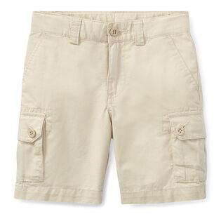 Short cargo en coton pour garçons [5-7]