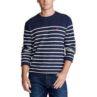Men's Striped Cotton Sweater