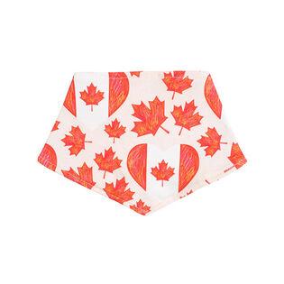 Bavette Oh Canada réversible pour bébés [3-12]
