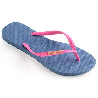 Juniors' [11-4] Slim Logo Pop-Up Flip Flop Sandal
