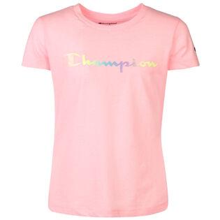 Junior Girls' [7-16] Ombre Logo T-Shirt