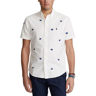 Men's Classic Fit Embroidered Oxford Shirt