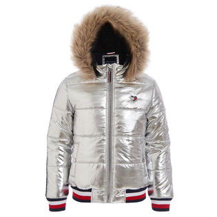 Junior Girls' [7-16] Taped Puffer Jacket