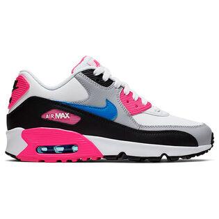Juniors' [3.5-7] Air Max 90 Leather Shoe