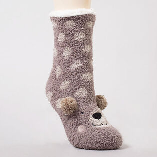 Women's Animal Plush Sock