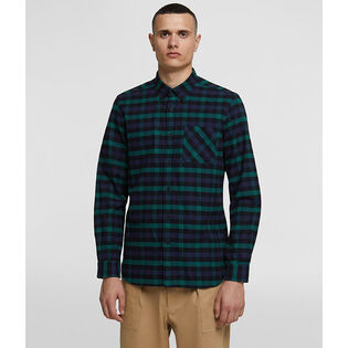 Men's Traditional Check Cotton Flannel Shirt