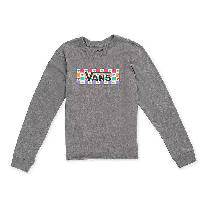 Junior Girls' [8-16] Check Tangle Long Sleeve T-Shirt