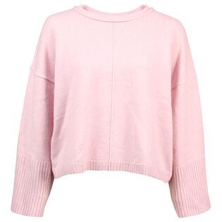 Women's Cashmere Boxy Crew Sweater