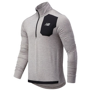 Men's Heat Grid Half-Zip Top